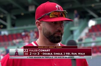 Kaleb Cowart gets the call up, has huge day in Angels 4-2 win