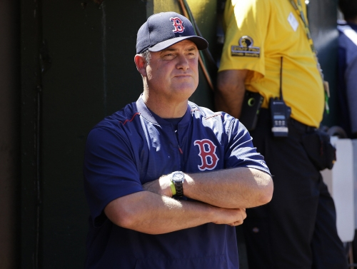 Red Sox manager John Farrell explains decision to call hit-and-run with Deven Marrero, Christian Vazquez