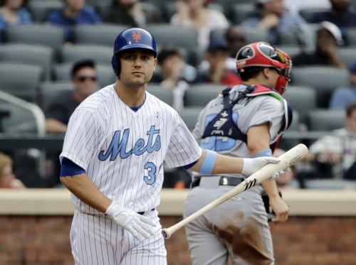 Mets' Michael Conforto exits game after being hit by pitch