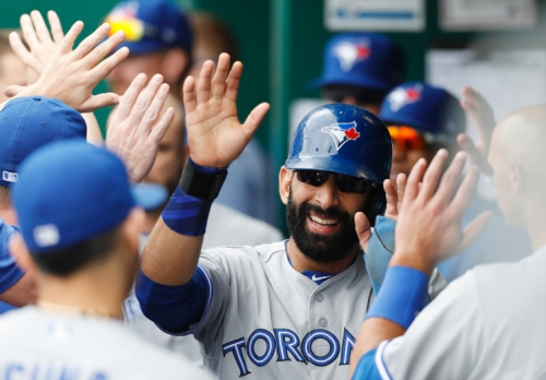 Bautista's offensive boost helps Jays beat Royals