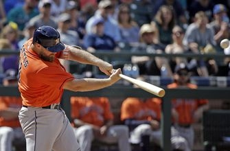 Astros hit 3 HRs, finish winning trip by beating Seattle 8-2 (Jun 25, 2017)