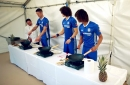 Aké, Cahill, David Luiz try to cook Singaporean food; what could possibly go wrong?