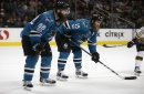 Sharks' Brent Burns, Joe Thornton like you've never seen them
