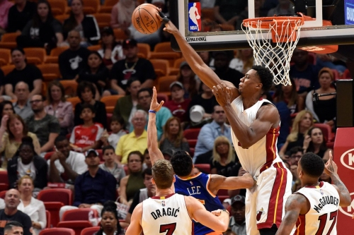 Hassan Whiteside not named to 2016-17 NBA All-Defensive Team