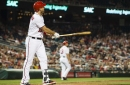 Washington Nationals' lineup for series opener with the Chicago Cubs...