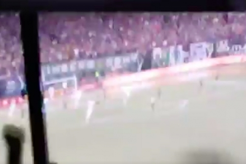Watch and listen to the euphoric reaction to Clint Dempsey's equalizer