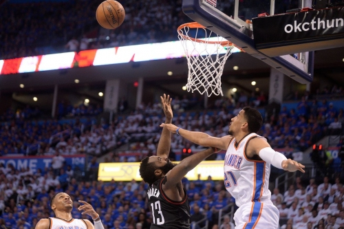 Upcoming restricted Oklahoma City Thunder Free Agent Andre Roberson named to NBA All Defensive Team