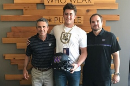Huskies get commitment from 4-star offensive tackle Matteo Mele