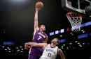 Lakers News: Larry Nance, Jr. gets robbed, doesn't win Dunk of the Year award for his obliteration of now-teammate Brook Lopez