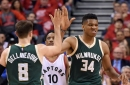 Giannis Antetokounmpo Wins Most Improved Player Award