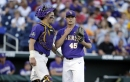 Watch highlights from LSU's College World Series final opener