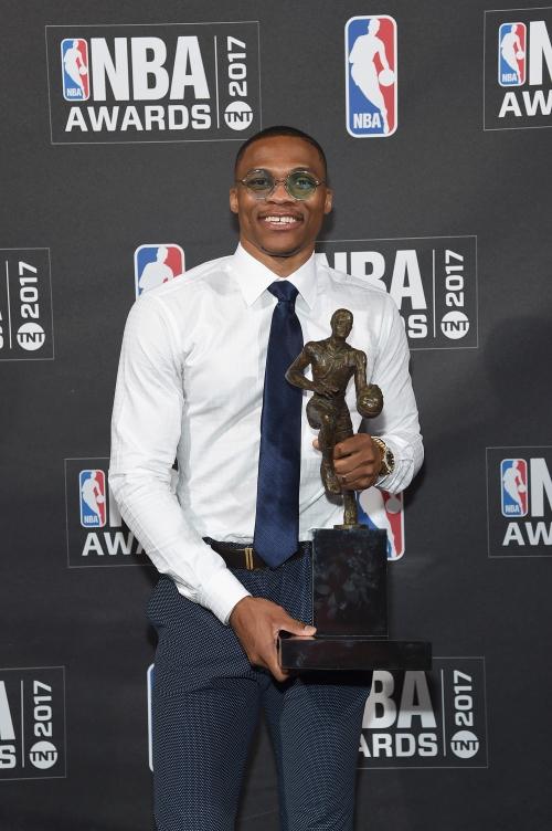 Russell Westbrook wins NBA MVP; Rockets, Bucks take 2 awards The Associated Press