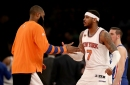 It really seems like Carmelo Anthony wants to remain a Knick
