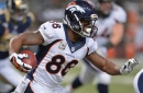 Demaryius Thomas on QB competition: 'I'm fine with either one'
