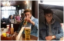 Manchester United signing Victor Lindelof gets used to life in England with a pint and a downpour