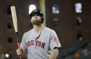 Hanley Ramirez, Mitch Moreland not in Boston Red Sox lineup; Sam Travis at 1B, Chris Young batting cleanup