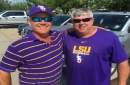 Are Jared Poche's father and another LSU dad College World Series heroes?