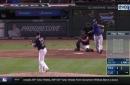 WATCH: Adrian Beltre hits go-ahead home run in 9th vs. Cleveland