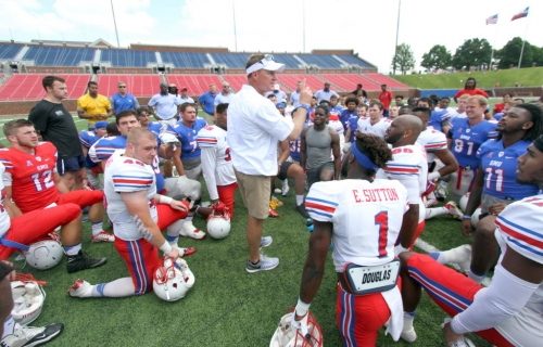 Chad Morris would coaching a power five school if he had stayed at Clemson longer; is the Big 12 sinking?