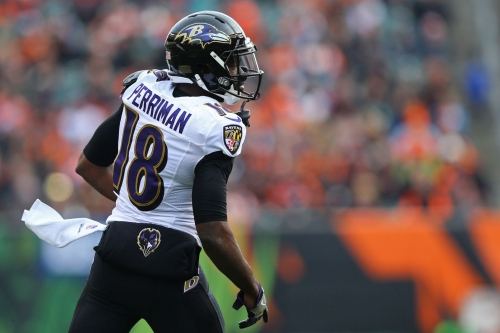 Have the Ravens ever developed a productive receiver?