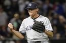 Yankees' Joe Girardi sets bar low for 'fabulous' Tyler Clippard