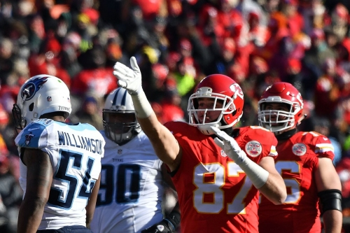The Chiefs have a GM interview with Ryan Cowden of the Titans today