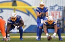 PFF: Los Angeles Chargers Offensive Line Ranks 21st in NFL
