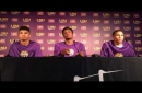 Three LSU basketball players arrested after shooting paintballs at a pedestrian