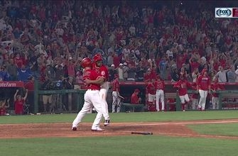 WATCH: Angels walk off the Dodgers in wild ending