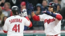 What does the future hold for Carlos Santana and the Indians' first-base situation? Going Deep