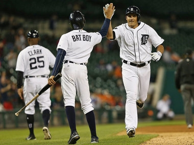 Tigers, Indians lineups: Mikie Mahtook starting 5th game in a row