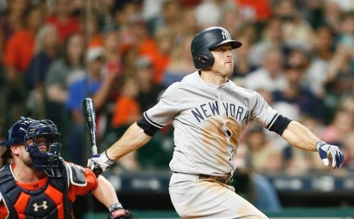 Brett Gardner hits grand slam as Yankees rout Astros, 13-4