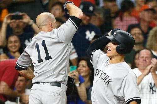 Brett Gardner's slam propels Yankees past 1st-place Astros