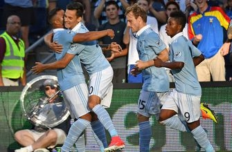 Salloi scores first MLS goal as Sporting KC plays to 1-1 draw with Timbers