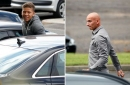 Designer tracksuits proved the fashion of the day as Newcastle United stars return to training