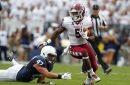 Can Jahad Thomas emerge as an option at backup running back for the Cowboys?