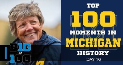 Michigan moments 25-21: Notre Dame rivalry renewed, Elise Ray 14-time All-American and the legacy of 'Hutch'