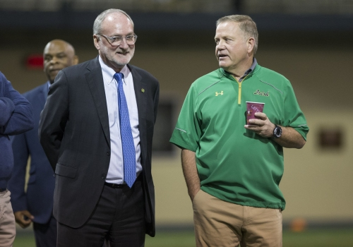 Notre Dame adds home-and-home series with SEC foe Arkansas