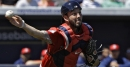 Blake Swihart, Red Sox C, placed on Pawtucket's DL with left ankle inflammation; examining the catching depth
