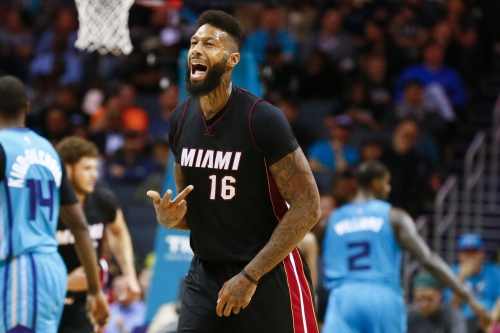 Heat officially re-sign James Johnson, Dion Waiters