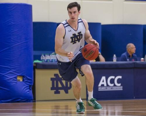 Matt Gregory still just one of the guys on Notre Dame basketball team