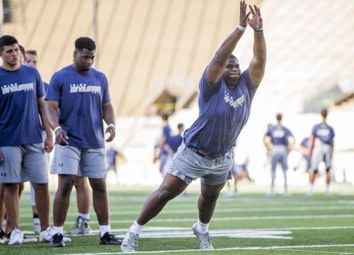 Notre Dame DT Jayson Ademilola named to Polynesian Bowl roster