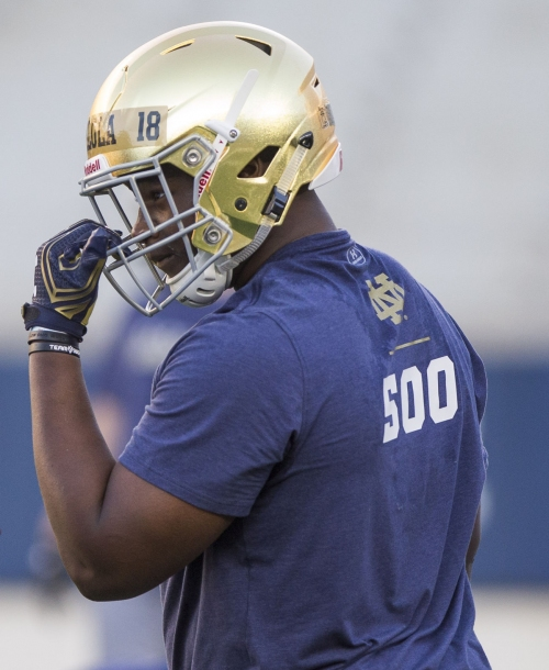 Notre Dame DT commit Jayson Ademilola named U.S. Army All-American