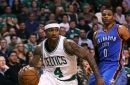 How 1st-quarter fatigue affects Isaiah Thomas, Russell Westbrook, and James Harden