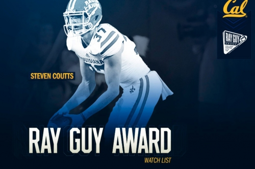 Cal graduate transfer punter Steven Coutts added to Ray Guy Award Watch List