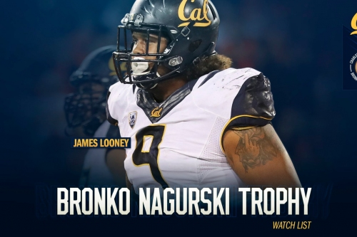 Cal defensive lineman James Looney Named to Bronco Nagurski Award watch list