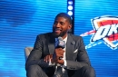 Thunder researched Paul George, welcomed with favorite food and candy