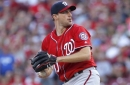 Max Scherzer throws six scoreless, strikes out 10 in Nationals' 10-7 win over Reds