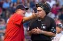 Red Sox playing Yankees game under protest after bizarre play