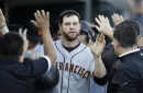 Giants notes: Brandon Belt scratched because of a sprained wrist